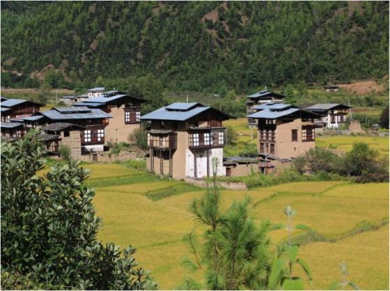 ブータン住宅