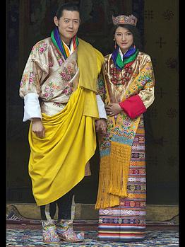 ブータン国王結婚式